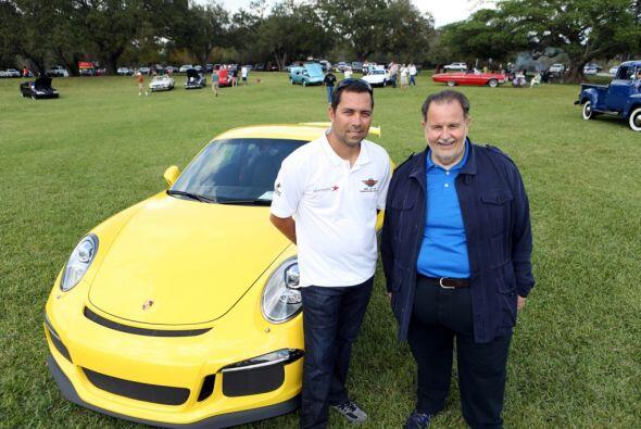 El Gordo participó en el Concours South Florida Car Show en Hollywood, F...