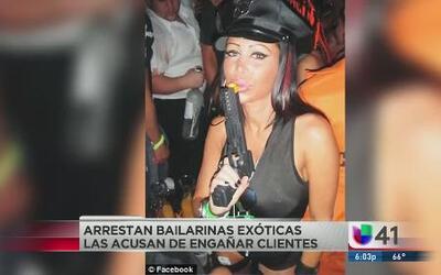 Bailarinas exóticas acusadas de drogar a clientes