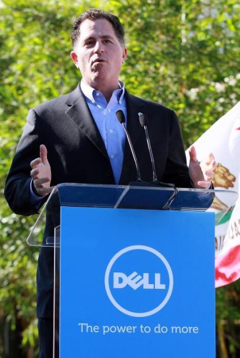 Michael Dell quedó en novena posición con una fortuna de $13.300 millone...