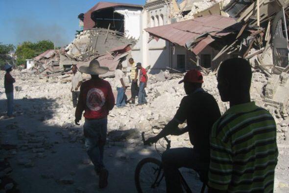 El terremoto de Haití fue catalogado como uno de los desastres m&...