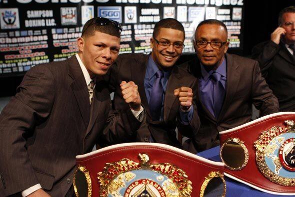 """Wilfredo Vázquez Jr. y Román """"Rocky"""" Martínez anunciaron la defensa de s..."""