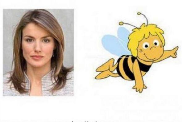 Y en este meme es comparada con una abeja reina. (Imagen tomada de las r...