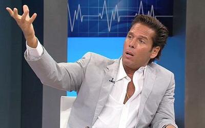 El actor mexicano Roberto Palazuelos expone ante la teleaudiencia de Cit...