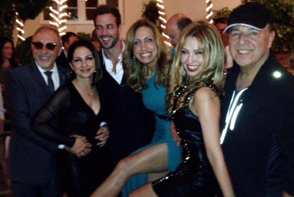 El año pasado, Thalía compartió momentos divertidos de la fiesta de Lili...