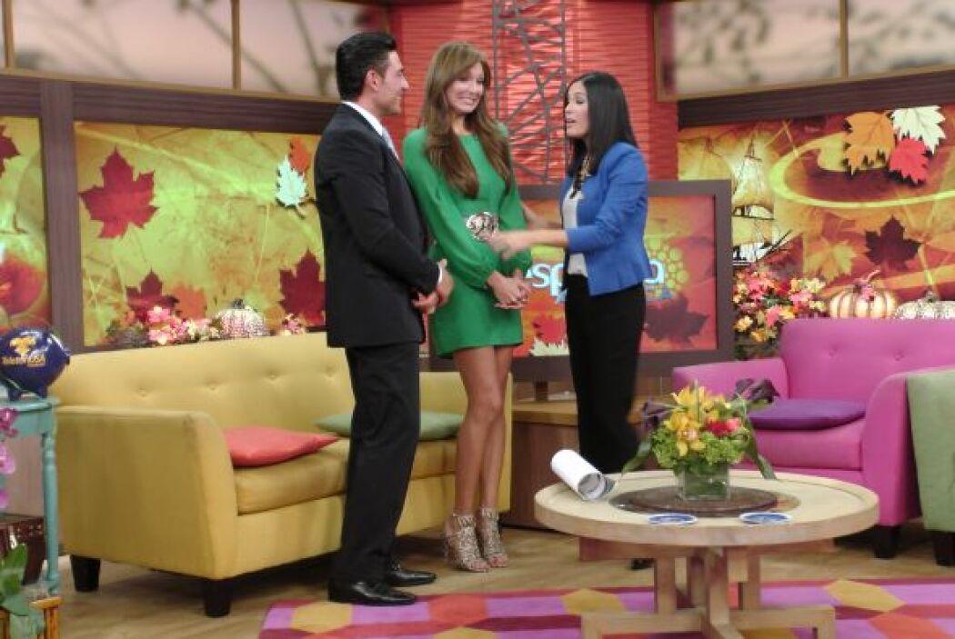 Blanca y Fernando le revelaron a Karla que el chofer que les mandaron nu...