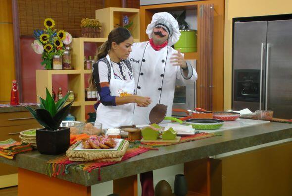 En la cocina, el Chef Tutti hizo pasar momentos difíciles a Karla.