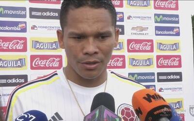 """Carlos Bacca: """"Jugar el primer partido de inauguración va a ser muy lindo"""""""