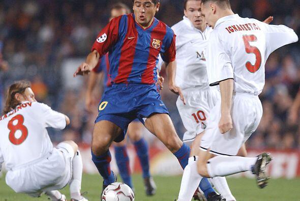 Su calidad lo llevó a probar suerte con el Barcelona de Espa&ntil...