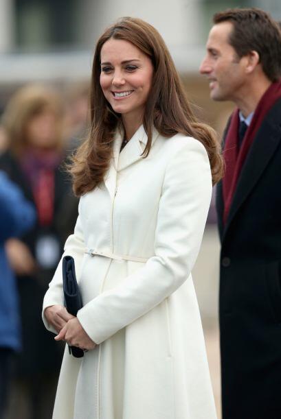 Se espera que la cigüeña visite a la pareja real en abril.