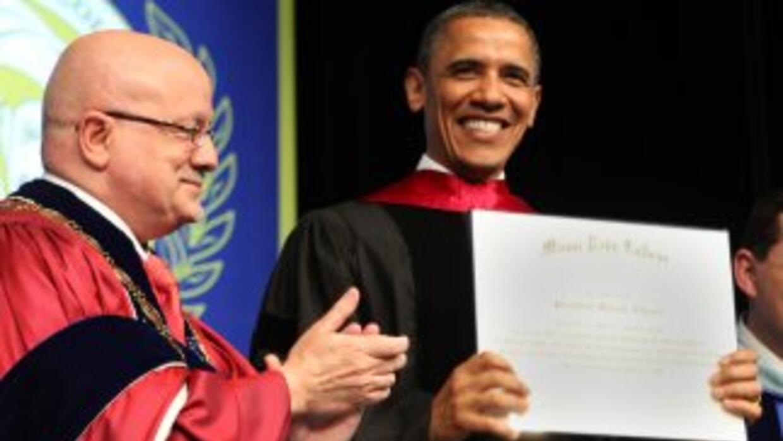Obama Miami Dade College