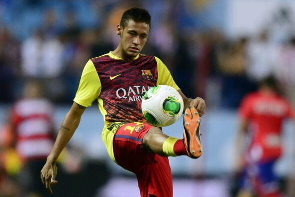 Neymar no fue elegido para estar en el 11 inicial de los 'blaugranas', p...