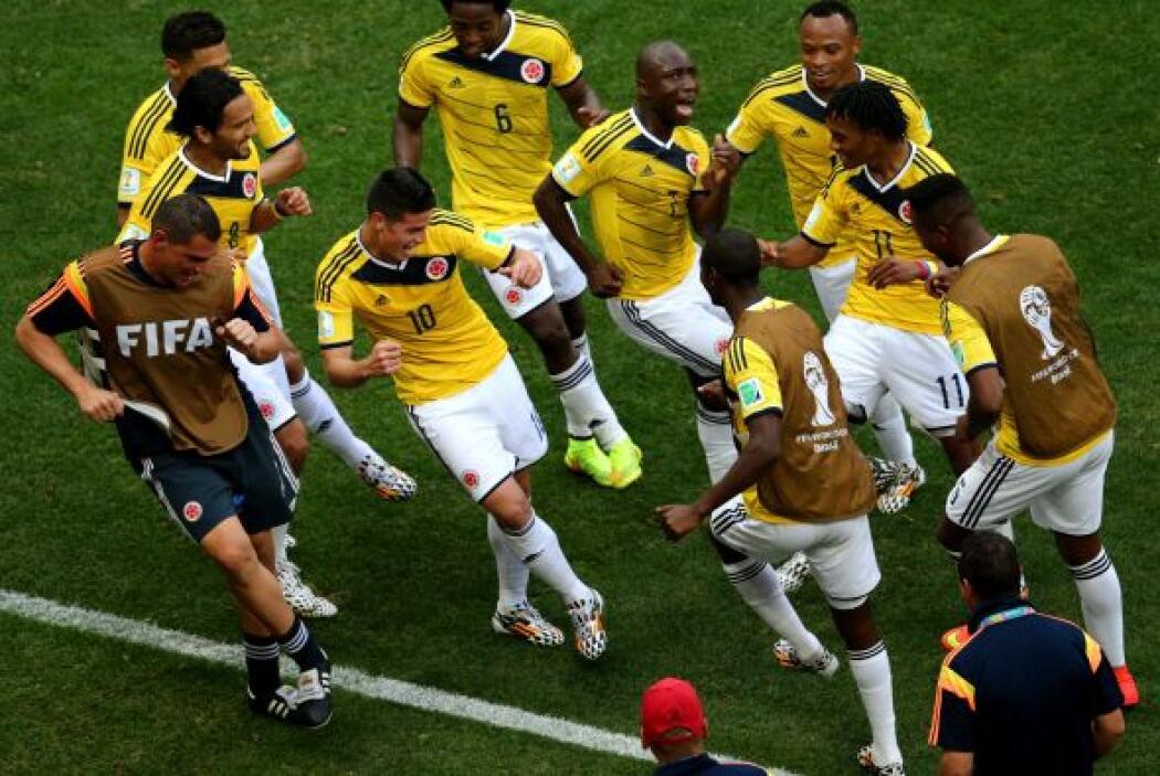 La celebración de sus goles se hicieron además de alegres, divertidas y...