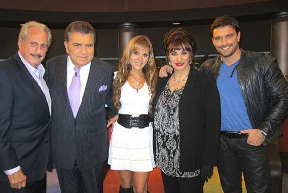 Don Francisco cara a cara con 'Eva Luna'.