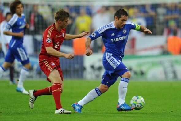 Los pocos intentos de ataque del Chelsea fueron al contraataque y tarmin...