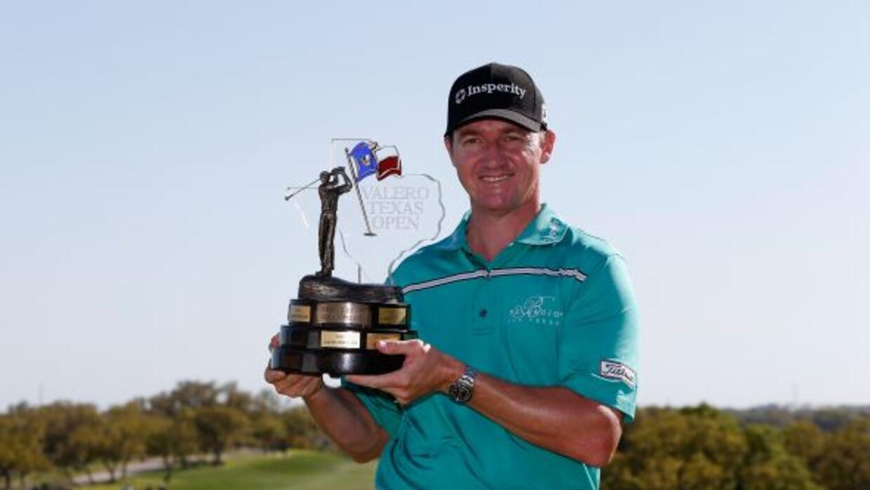 El golfista Jimmy Walker fue el triunfador del Valero Texas Open, y su v...