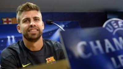 El defensa catalán sabe que el tipo de juego del Barcelona ha ayudado al...