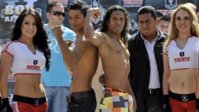 Rojas y Zárate en peso (Foto: facebook)