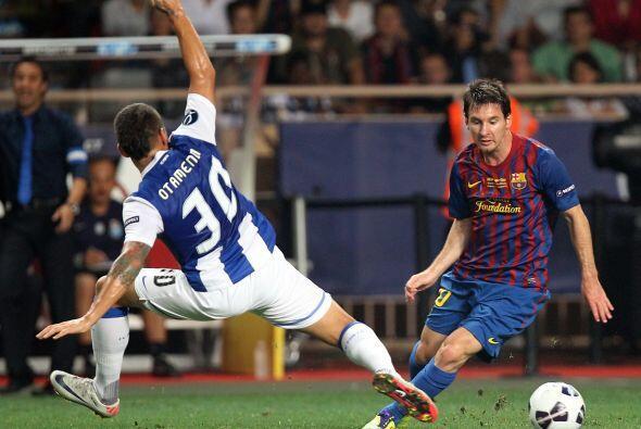 Messi jugó el partido sabiendo que la Supercopa es el único torneo donde...