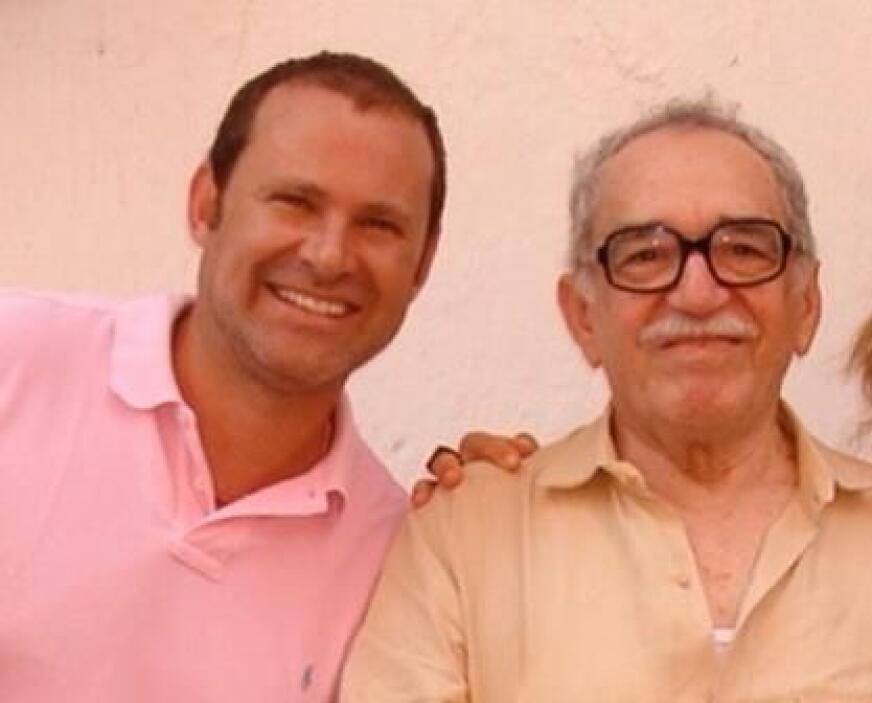 """""""Un honor haberte conocido.... QEPD Gabriel García Márquez"""", dijo Alan...."""