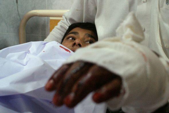 Un niño herido en el ataque que salió con vida permanece en el hospital.