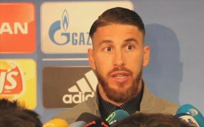 """Sergio Ramos: """"La Final de Lisboa está olvidado y ahora empezamos de cero"""""""