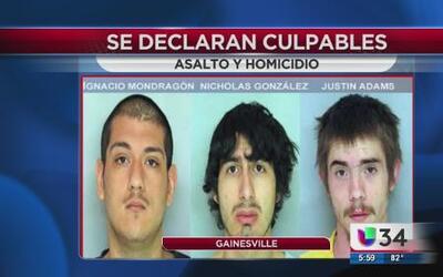 Se declaran culpables de asalto y homicidio