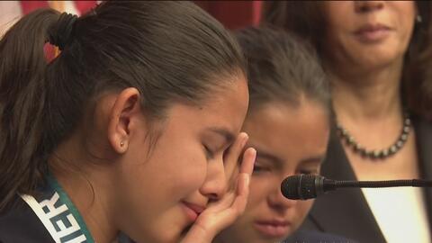 Dos hermanas relatan ante el Senado cómo inmigración arrestó a su padre...