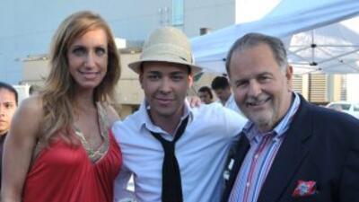 Prince Roy inauguró el viernes social con El Gordo y La Flaca