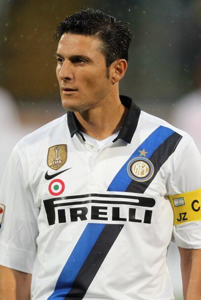El 'Pupi' Zanetti no puede creer el mal momento de su equipo.