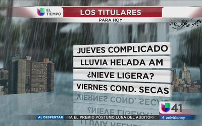 Nueva York tendrá clima de invierno este jueves