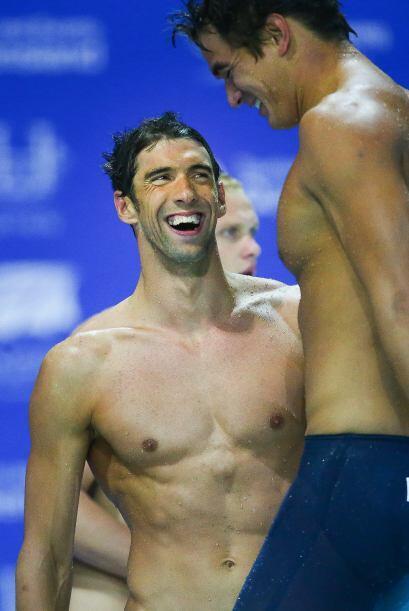 Imaginamos que el gran atleta Michael Phelps le tiene una lista bien lar...