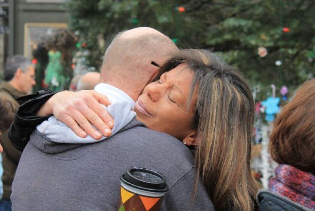 Días después del tiroteo en la escuela Sandy Hook de Newtown (Connecticu...