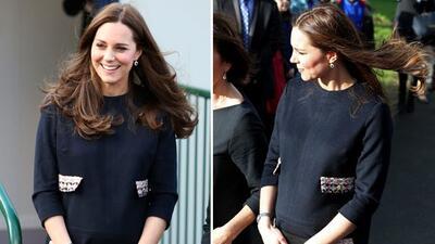 Middleton también deslumbró en Londres tras no verla desde las fiestas d...