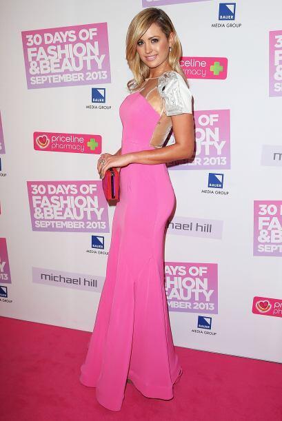 Jesinta Campbell, ganadora de Miss Universe Australia, lució un llamativ...