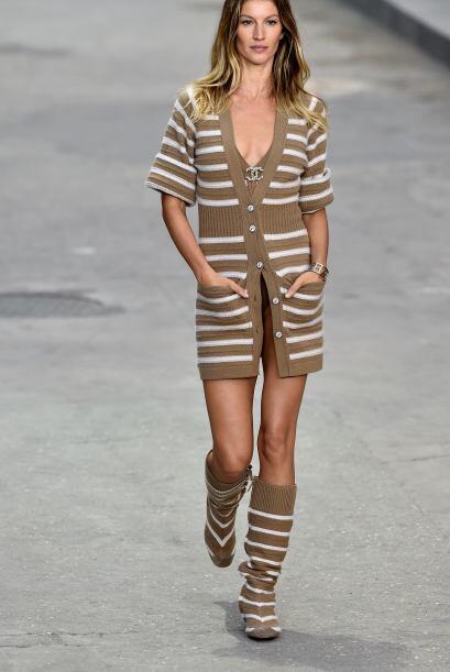 Mira la increíble combinación que logró Chanel, ¿les gusta?