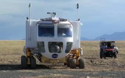 Este es el SEV, 'Space Exploring Vehicle', que la NASA llevó a Di...