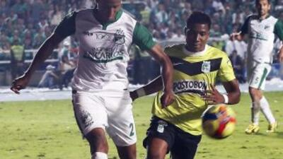 Deportivo Cali ganó por 2-1 a Atlético Nacional en el partido de ida de...