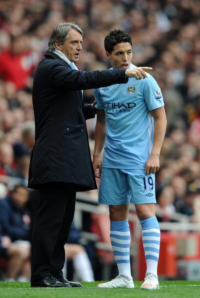 Roberto Mancini ya daba indicación a sus jugadores por que se sentía ata...