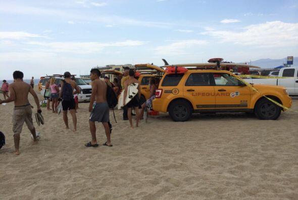 Los herido grave fueron trasladados al hospital de Marina del Rey Fotos...