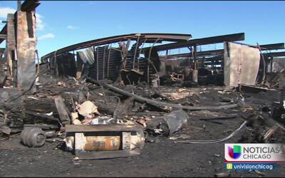 Devastador incendio deja sin trabajo a decenas de personas