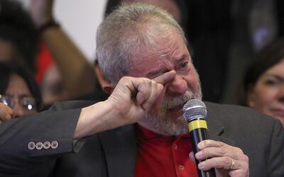 En rueda de prensa, Lula rechazó las acusaciones de corrupción y lavado...