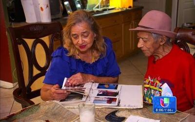 Samy le hizo el sueño realidad a una pareja de ancianos