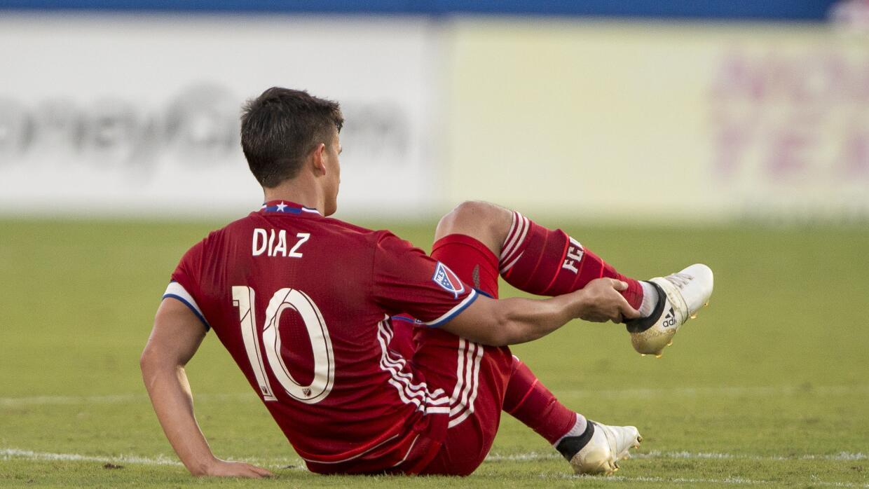Mauro Diaz sufre lesion con FC Dallas