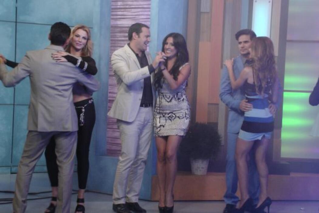 Maity y Alan le hicieron la competencia a las otras parejas.