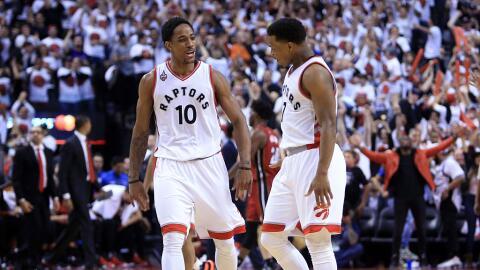 DeMar DeRozan y Kyle Lowry claves en el ascenso de los Raptors.