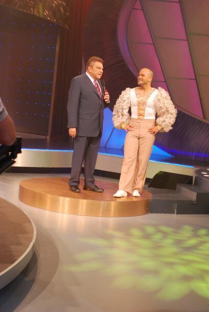 Don Francisco fue otro sorprendido con los resultados de Ritmo Dieta.