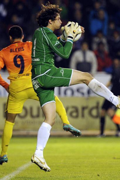 El Alavés era más orgullo que ideas para atacar al rival y sólo apostaba...