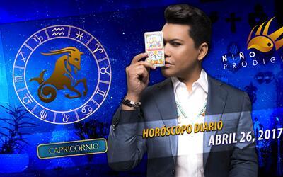 Niño Prodigio - Capricornio 26 de abril 2017