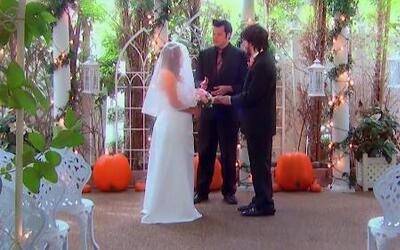 Echa a volar tu imaginación en una boda en Las Vegas