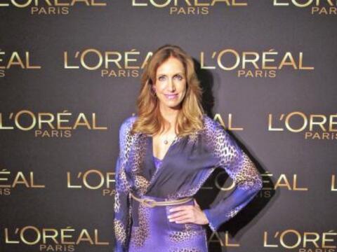 La Flaca acudió a un evento organizado por L'Oreal Paris para con...